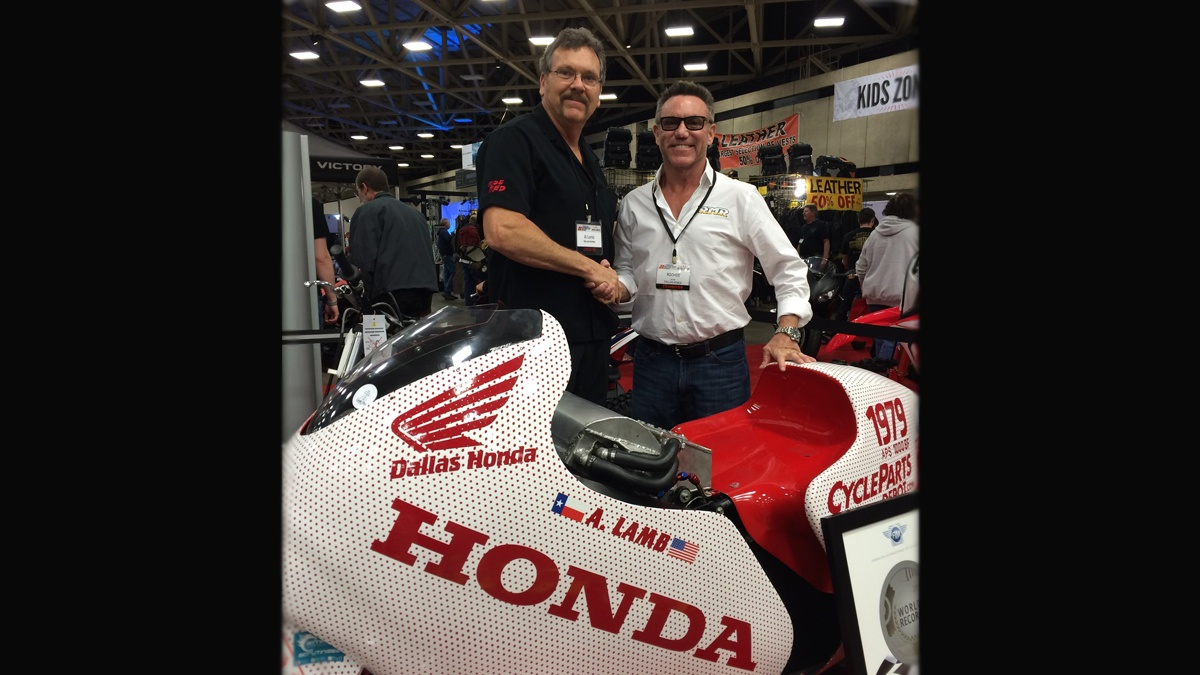 american flat track news al lamb s dallas honda joins