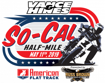 American Flat Track Entry List - 2019 Vance & Hines So-Cal