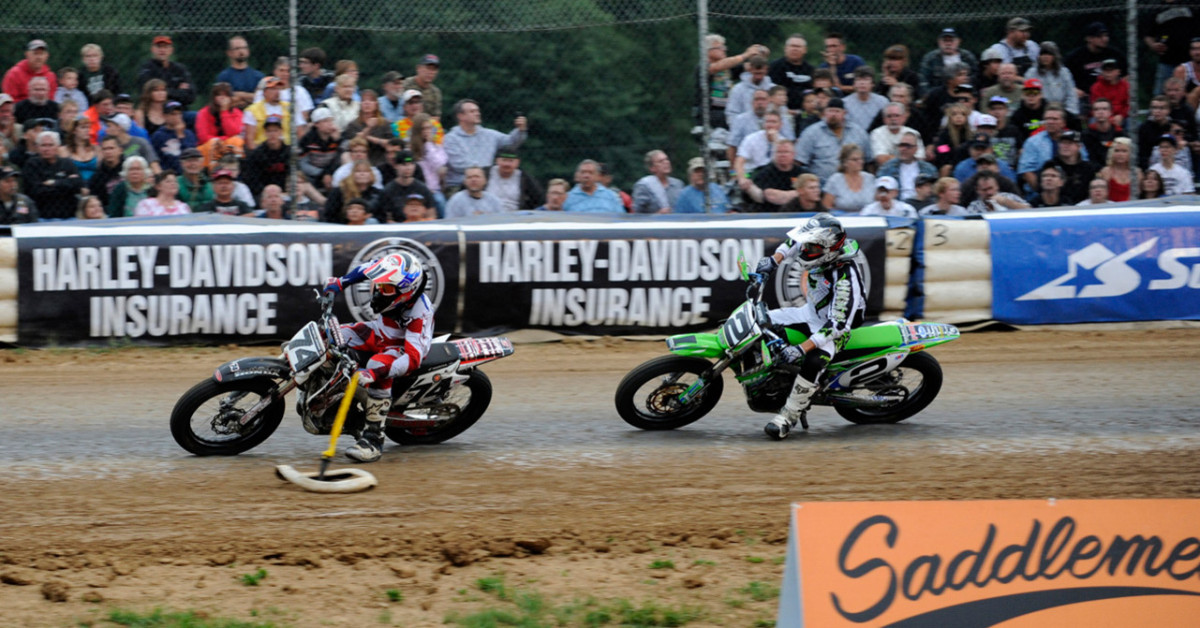 American Flat Track News - AMA Pro Flat Track Jumps North to ...