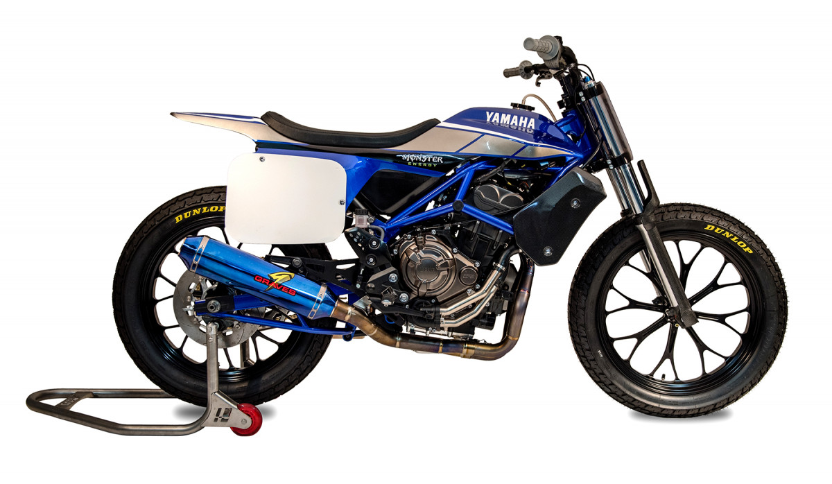 American Flat Track News Exclusive Yamaha Mt 07 Dt