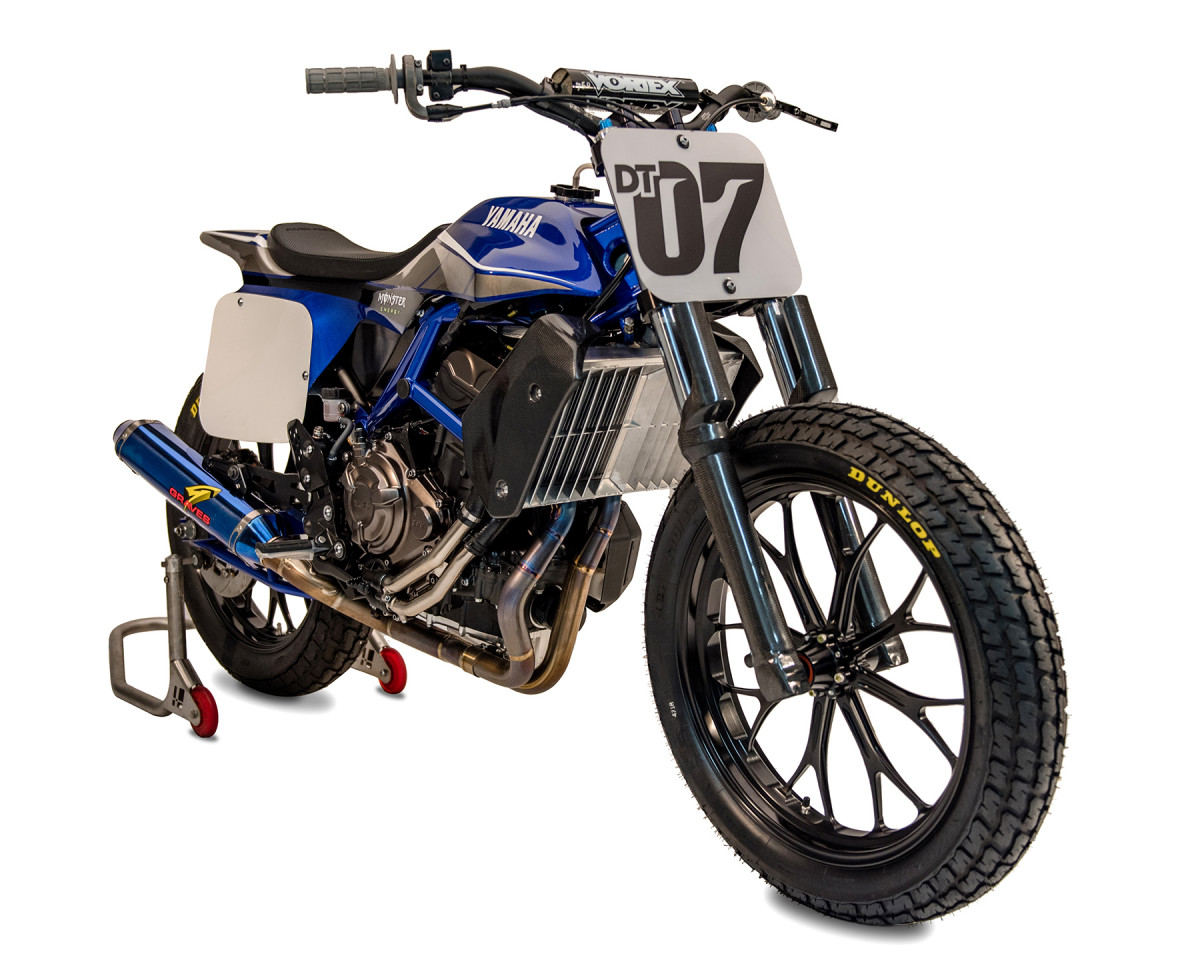 American Flat Track News - World Exclusive! Yamaha MT-07 DT