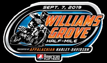 American Flat Track Entry List - 2019 Williams Grove Half